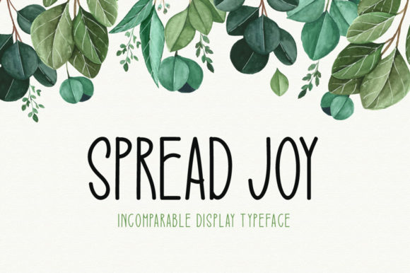 Print on Demand: Spread Joy Display Font By Seemly Fonts