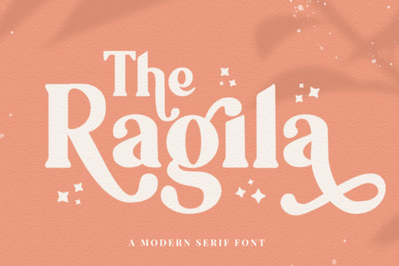 Print on Demand: The Ragila Display Font By vultype