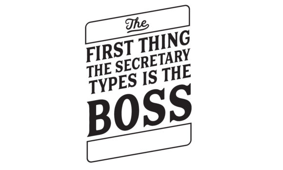 Print on Demand: The First Thing the Secretary Types Graphic Illustrations By baraeiji