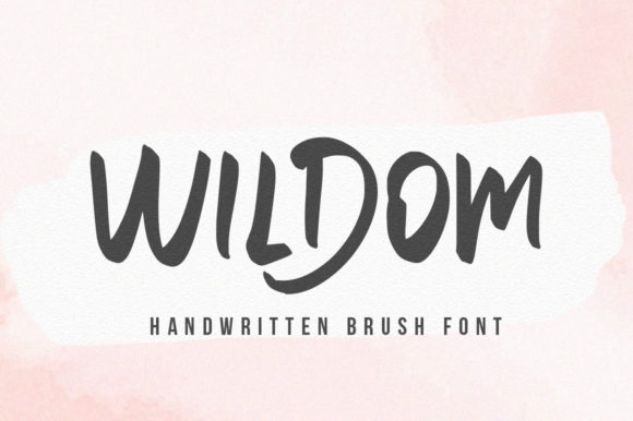Print on Demand: Wildom Script & Handwritten Font By vultype