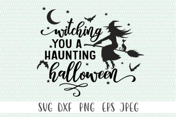 Witching You a Haunting Halloween  Graphic Crafts By Simply Cut Co