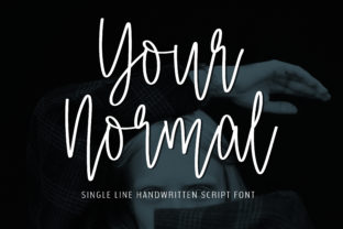 Print on Demand: Your Normal Script & Handwritten Font By BitongType