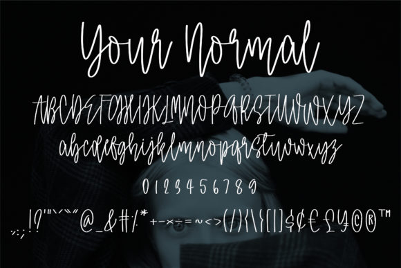 Print on Demand: Your Normal Script & Handwritten Font By BitongType - Image 2