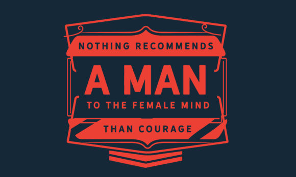 Print on Demand: Female Mind Than Courage Graphic Illustrations By baraeiji