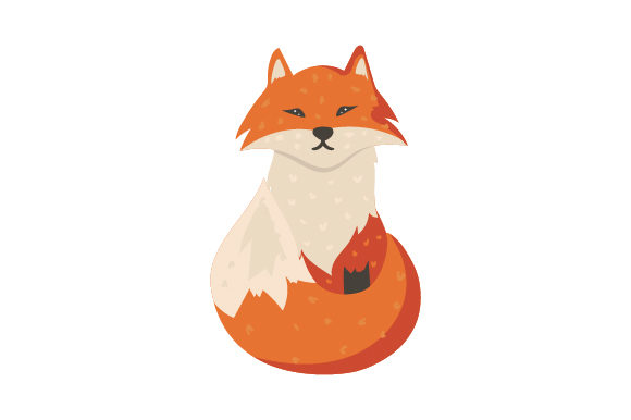 Fox Character Animals Craft Cut File By Creative Fabrica Crafts