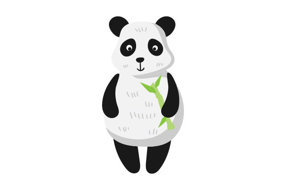 Panda Character Animals Craft Cut File By Creative Fabrica Crafts
