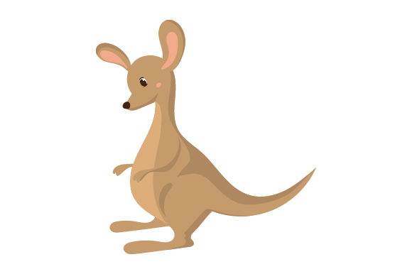 Kangaroo Character Animals Craft Cut File By Creative Fabrica Crafts