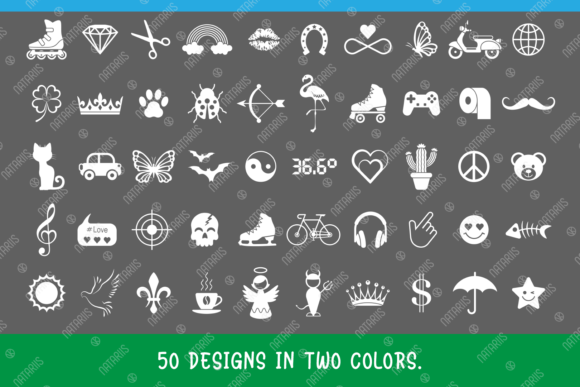 50 Trendy Fashion Designs for Face Mask Graphic Item