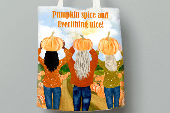Autumn Clipart Pumpkin Patch Fall Graphic Illustrations By LeCoqDesign - Image 10