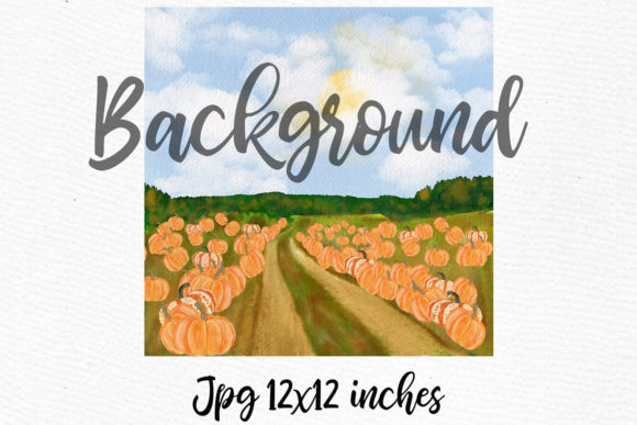 Autumn Clipart Pumpkin Patch Fall Graphic Illustrations By LeCoqDesign - Image 5