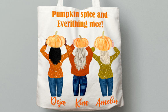 Autumn Clipart Pumpkin Patch Fall Graphic Illustrations By LeCoqDesign - Image 9