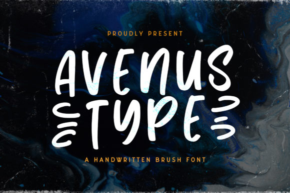 Print on Demand: Avenus Type Display Font By StringLabs