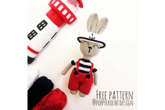 Aye, Aye Captain! Crochet Pattern Graphic Crochet Patterns By Needle Craft Patterns Freebies
