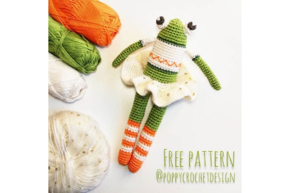 Ballet Dancer Frog Crochet Pattern Graphic Crochet Patterns By Needle Craft Patterns Freebies