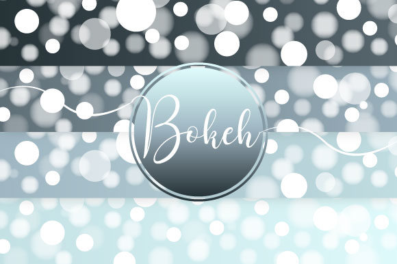 Bokeh Vector Graphic Illustrations By maree_gd