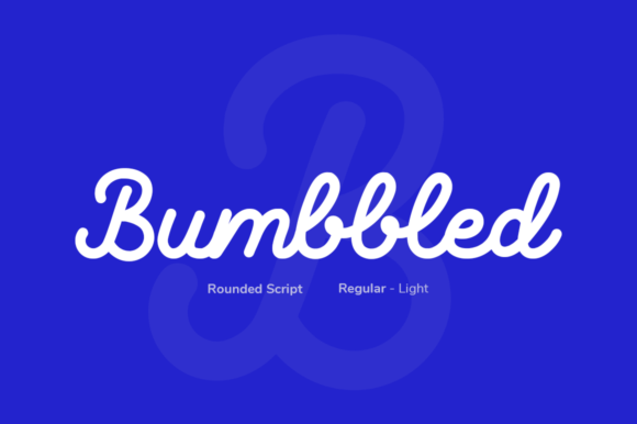 Print on Demand: Bumbbled Script & Handwritten Font By agamous
