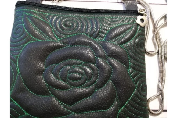 Cosmetic Bag in the Hoop - Rose Sewing & Crafts Embroidery Design By ImilovaCreations - Image 3