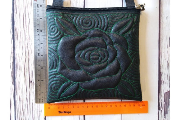 Cosmetic Bag in the Hoop - Rose Sewing & Crafts Embroidery Design By ImilovaCreations - Image 4