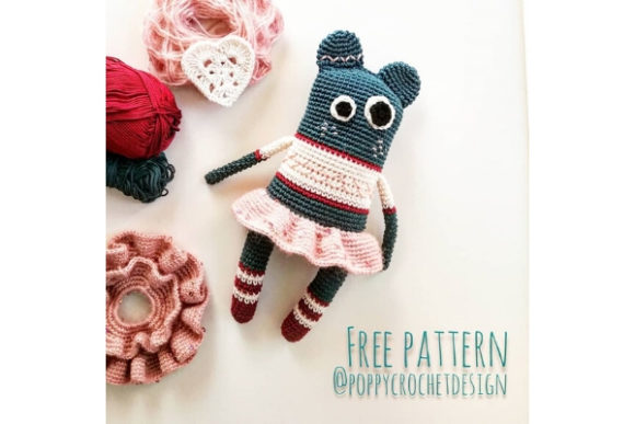 Extraterrestrial Bear Crochet Pattern Graphic Crochet Patterns By Needle Craft Patterns Freebies - Image 1