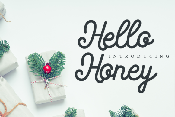 Hello Honey Font Free Download