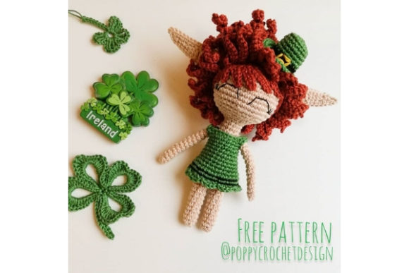 Irish Elf Crochet Pattern Graphic Crochet Patterns By Needle Craft Patterns Freebies