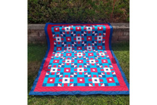Let's Have a Picnic Quilt Pattern Gráfico Quilt Patterns Por SleepingCatCreations
