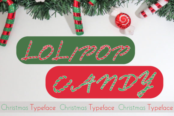Print on Demand: Lolipop Candy Display Font By iqbalfaizinm