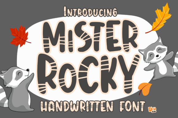 Print on Demand: Mister Rocky Display Schriftarten von dmletter31