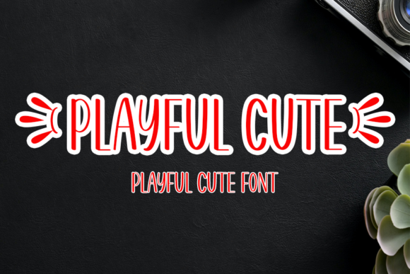 Print on Demand: Playful Cute Display Schriftarten von Inermedia STUDIO