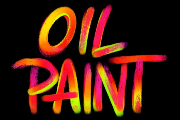 Print on Demand: Procreate Brushset - Oil Paint Brushes Graphic Brushes By Design 2 Last