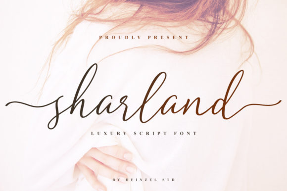 Print on Demand: Sharland Script & Handwritten Font By Heinzel Std