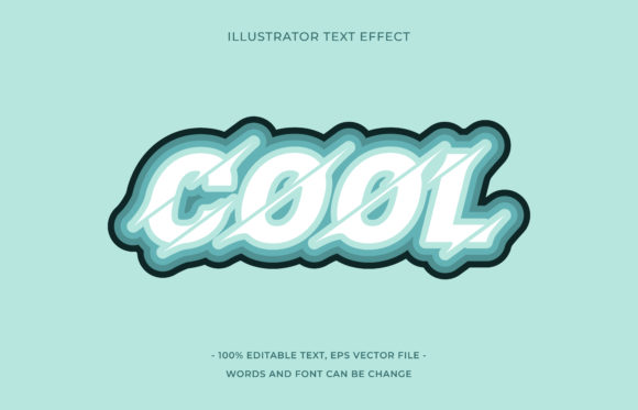 Text Effect Editable - Cool Graphic Add-ons By aalfndi