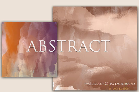 Watercolor Background Graphic Backgrounds By DAYDESIGN
