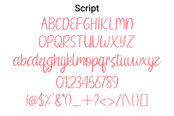 Print on Demand: Wednesday Summer Script & Handwritten Font By Rvandtype - Image 6