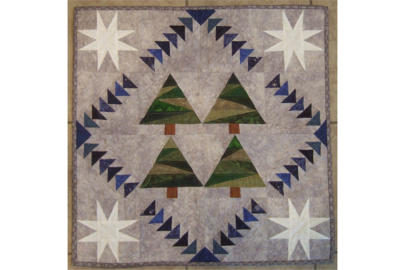 Winter's Night Flight Graphic Quilt Patterns By patti5 - Image 1