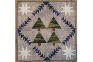 Winter's Night Flight Gráfico Quilt Patterns Por SleepingCatCreations