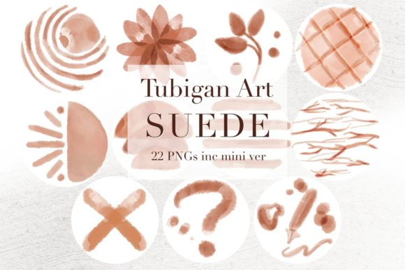 Print on Demand: 22 Suede Instagram Stories Highlights Graphic Icons By Tubiganart