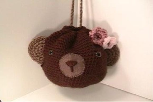 Crochet Bear Purse Pattern Graphic Crochet Patterns By Amy Gaines Amigurumi Patterns