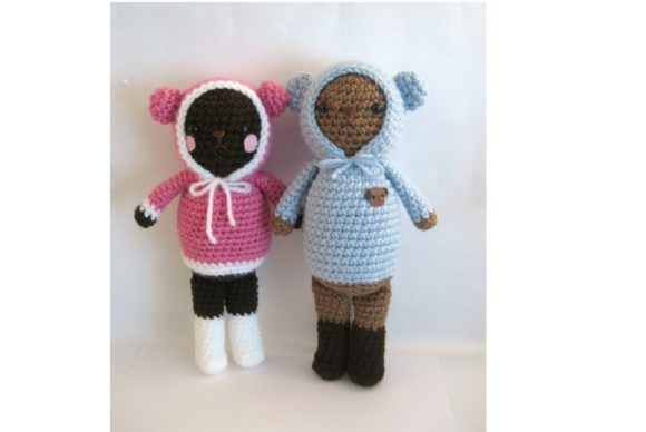 Crochet Wintertime Bears Pattern Set Graphic Crochet Patterns By Amy Gaines Amigurumi Patterns