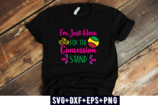 Print on Demand: I'm Just Here for the Concession Stand Graphic Print Templates By Design_store