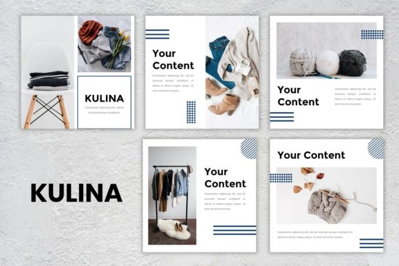 Instagram Feed - Kulina Graphic Presentation Templates By listulabs