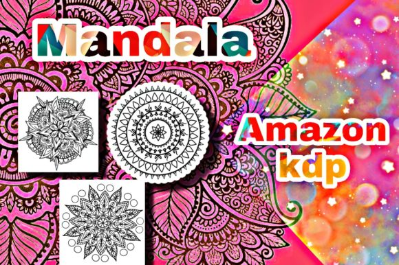 Mandala KDP Interior  Graphic KDP Interiors By mcharrachy