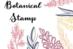 Print on Demand: Procreate Brushset - Botanical Stamp Graphic Brushes By Design 2 Last