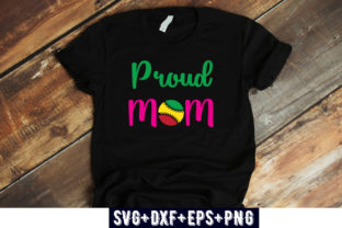 Print on Demand: Proud Mom Graphic Print Templates By Design_store