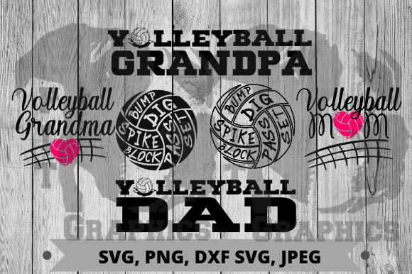 Volleyball Bundle Graphic Crafts By Pit Graphics