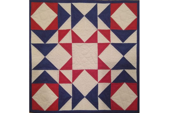 Flying Star Graphic Quilt Patterns By patti5