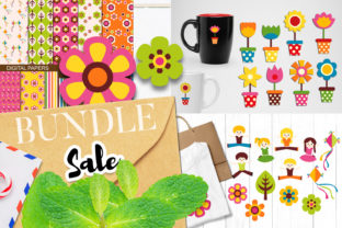 Print on Demand: Spring Outdoor Bundle Graphic Illustrations By Revidevi