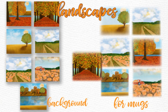 Summer Backdrop Beach Landscape Graphic Illustrations By LeCoqDesign - Image 2