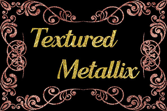 Textured Metallix Graphic Backgrounds By Subi Designs