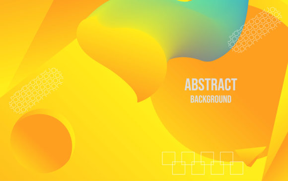 Abstract Yellow Background Graphic Backgrounds By ngabeivector